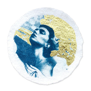HYPATIA'S SCHOLARLY WORLD REVOLVING (STUDY IN GOLD) No5