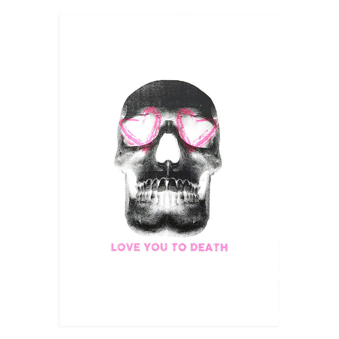 LOVE YOU TO DEATH (BLACK)