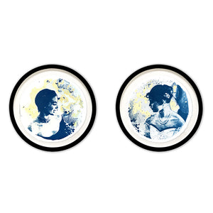LUNAR LADIES I and II Duo (Set Of 2)