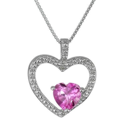 Image of Created Pink Sapphire