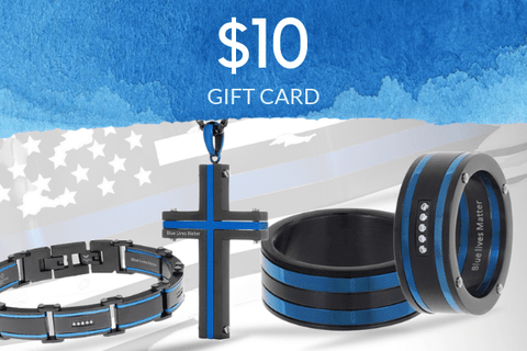 Image of Thin Blue Line Gift Card