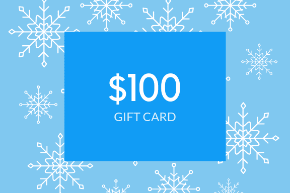 Winter Snow Gift Card