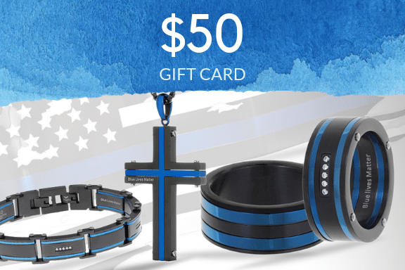 Thin Blue Line Gift Card