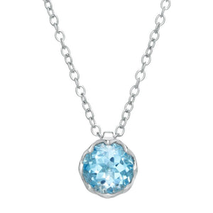 Round Birthstone with 18