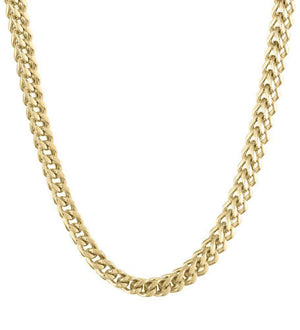 Stainless Steel 6mm Foxtail Chain Necklace