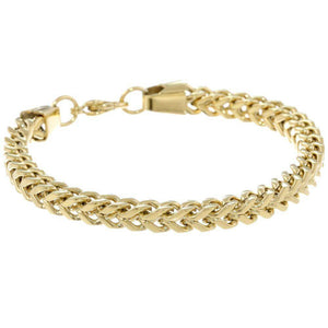 Lavari - Men's Foxtail Chain Bracelet – Stainless Steel - 6mm