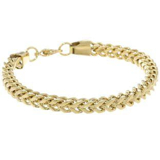 Stainless Steel 6mm Foxtail Chain Bracelet