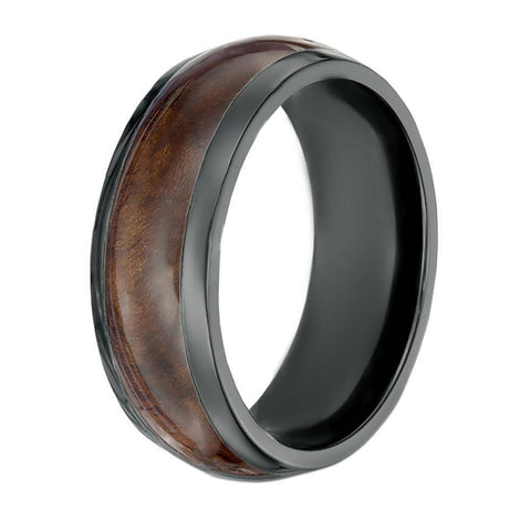 Image of Black Zirconium Ring