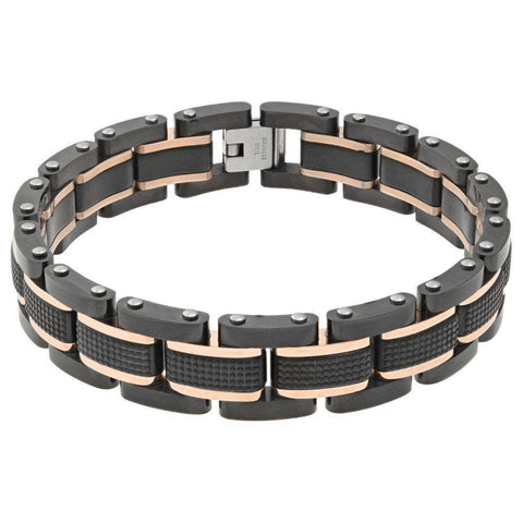 Stainless Steel Textured Bracelet