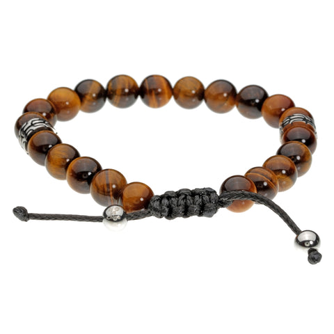 Image of Tiger Eye Bead Bracelet