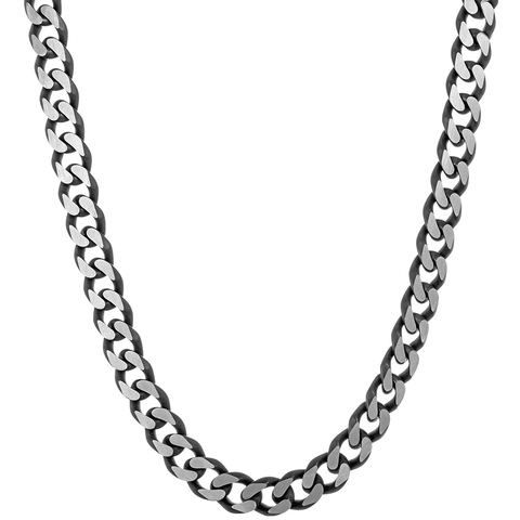"Image of Lavari -  Stainless Steel Curb Chain Necklace - 22"", 24"", 30""- Men's"