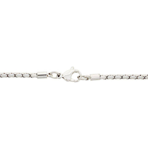 Stainless Steel Snake Chain Necklace , 24""