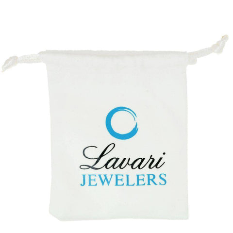 Lavari 4mm Foxtail Chain Necklace in Stainless Steel - 22 inch