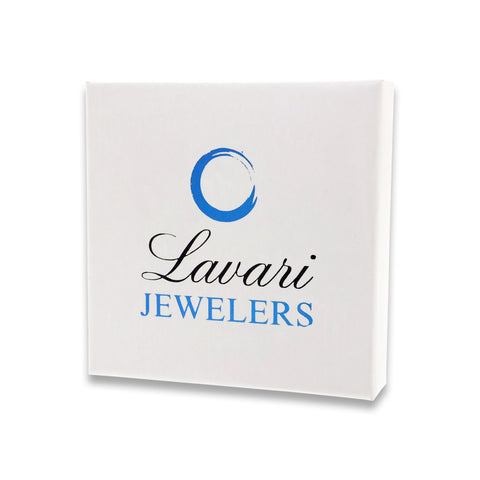 Image of Lavari - 10K Gold Lightning Necklace with 1/4 ct. TDW Diamond