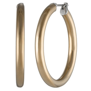 Stainless Steel Hoop Earrings, 20 mm