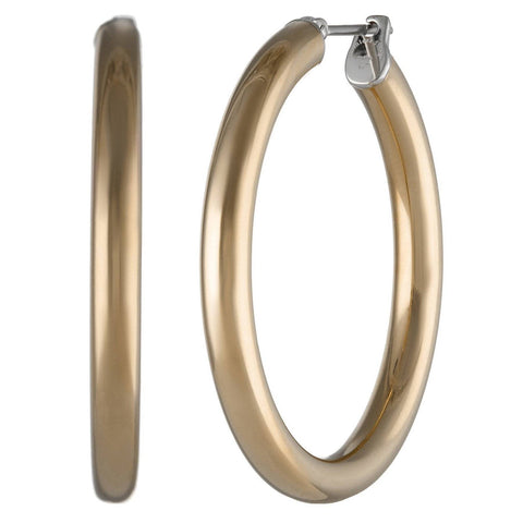 Image of Stainless Steel Hoop Earrings, 20 mm