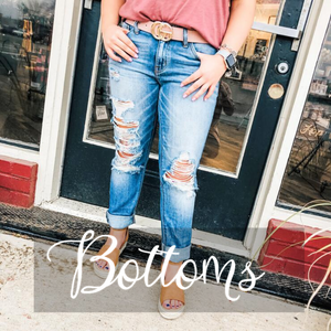 Shop Bottoms- Ruby & Pearl Boutique Hillsboro TX
