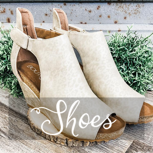 Shop Shoes- Ruby & Pearl Boutique Hillsboro TX