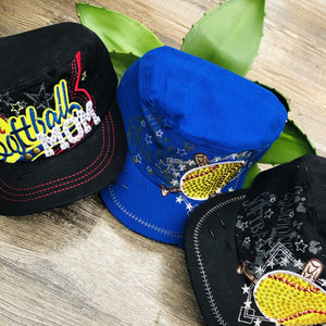 Softball Caps 🥎-Ruby & Pearl Boutique