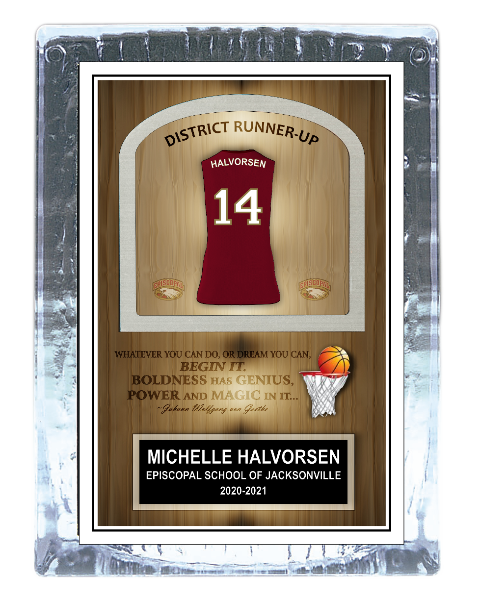 Basketball Ice Award