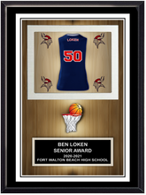 Team Basketball Stand Up Plaque