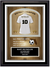 Soccer Self Standing Plaque