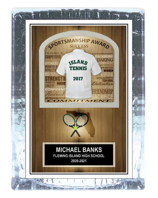 Tennis Inspirational Ice Award