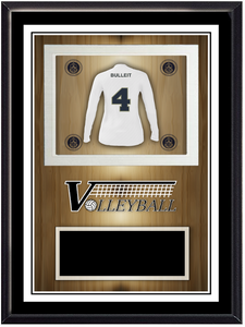 Team Volleyball Stand Up Plaque
