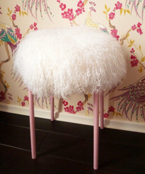 Lamb Stool DIY