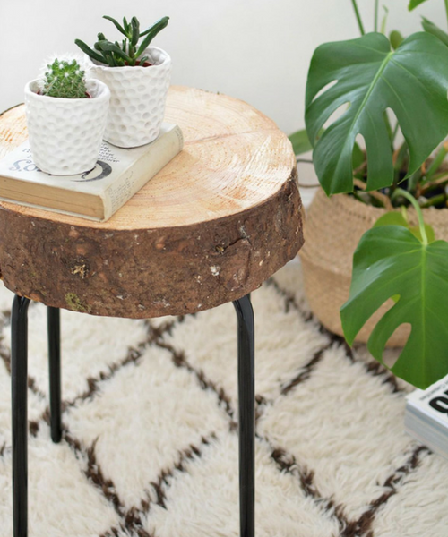 Wood Stool Ikea DIY