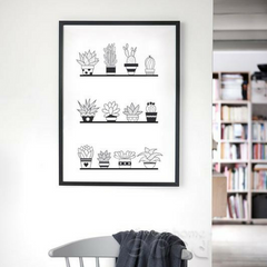 All The Plants Wall Art