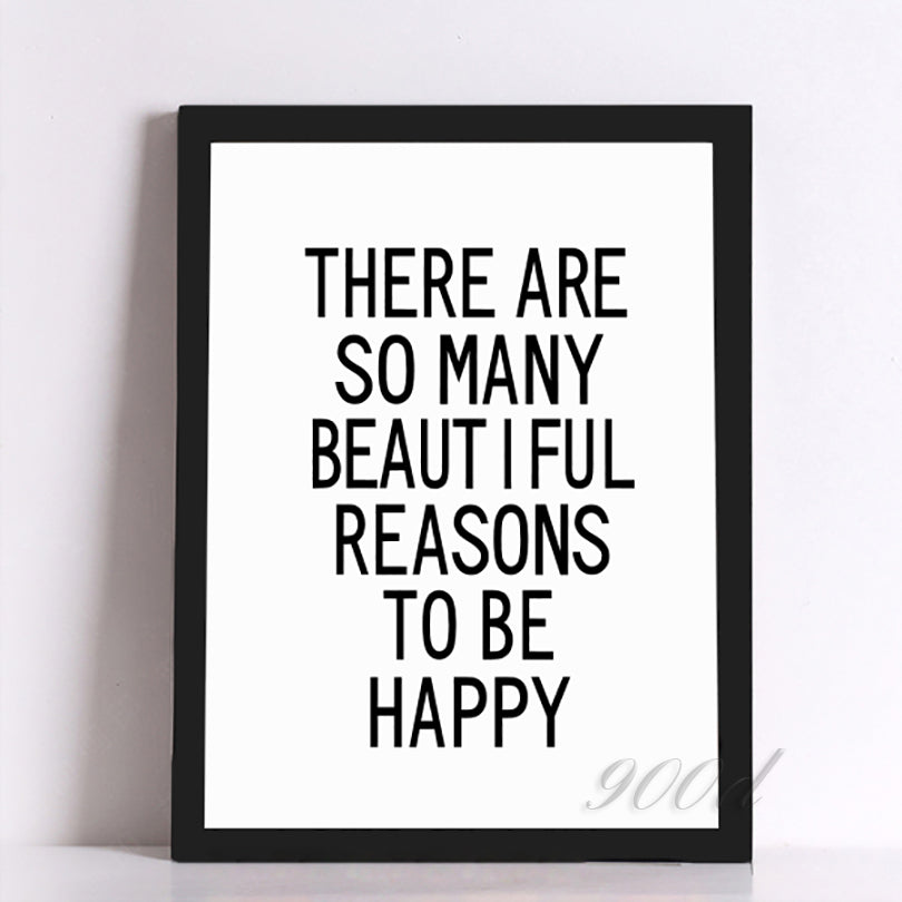 So Many Beautiful Reasons Wall Art