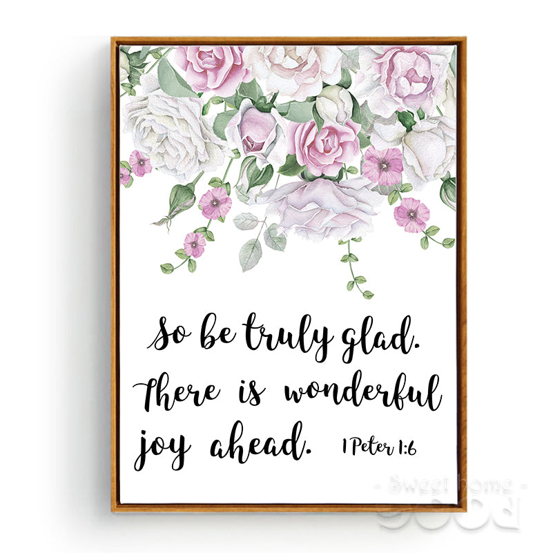 Wonderful Joy Ahead Wall Art