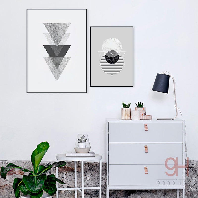 Vintage Geometric Wall Art