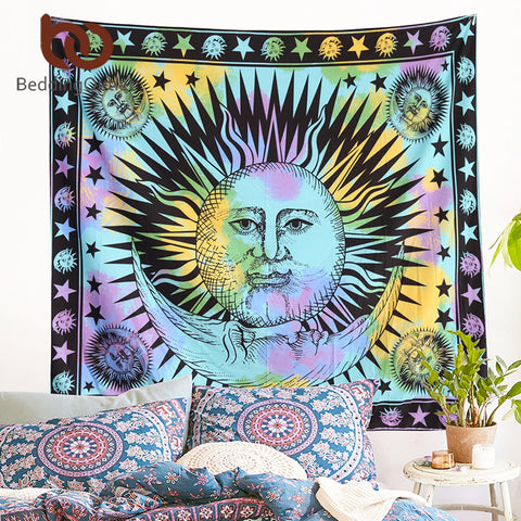 The Love Elephant Wall Tapestry