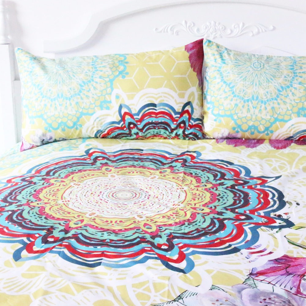 Far Out Duvet Set 3 Piece Set