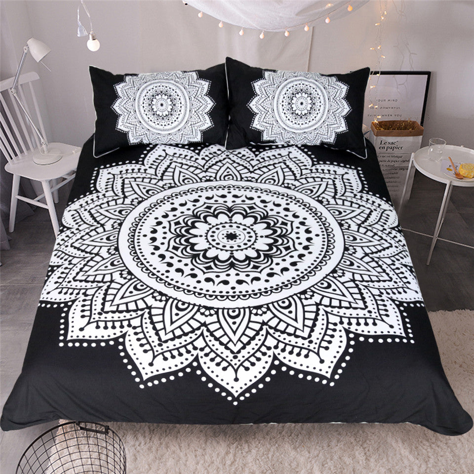 Elephant March Duvet Cover 3 Piece Set