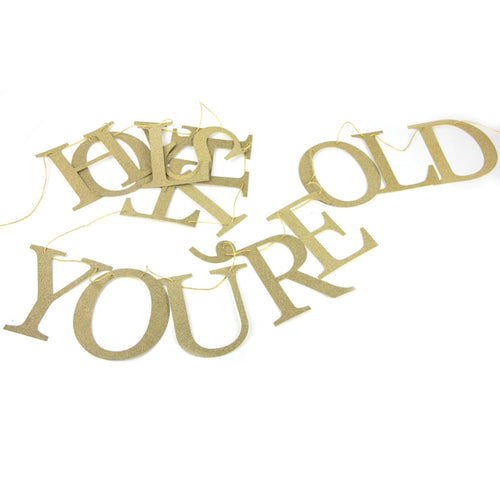 Holy S*#t You're Old! Banner