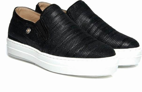 WOMEN'S 'SELECT' LOW CUT SLIP-ON - BLACK
