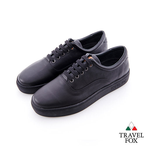 MEN'S LOW-CUT - NAPPA LEATHER BLACK