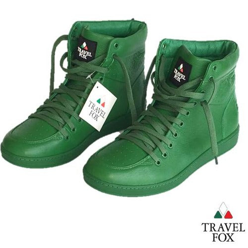 MEN'S 900 SERIES CLASSIC - GREEN NAPPA LEATHER
