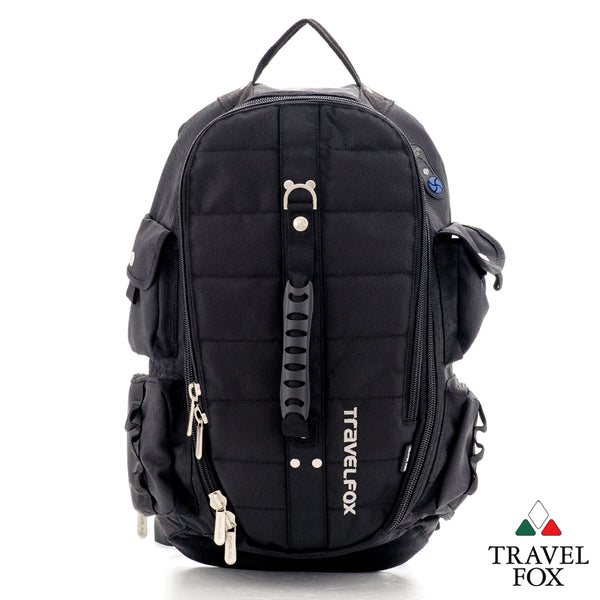 DUFFEL MULTI-CARRY BACKPACK - BLACK