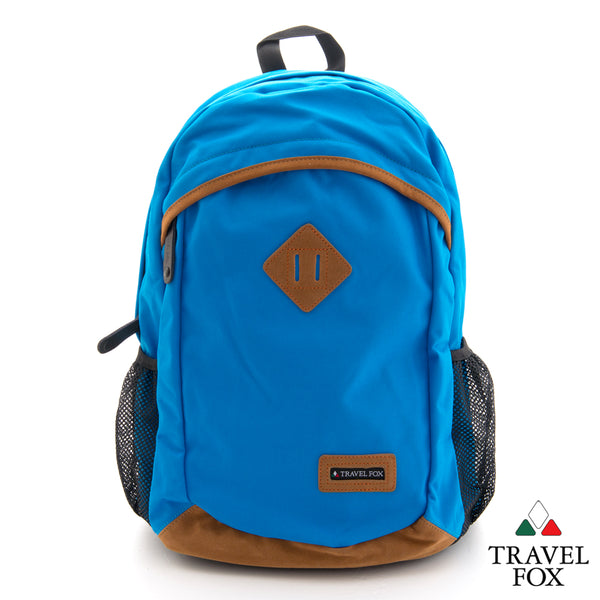'TRAVEL LIGHT' BACKPACK- BLUE