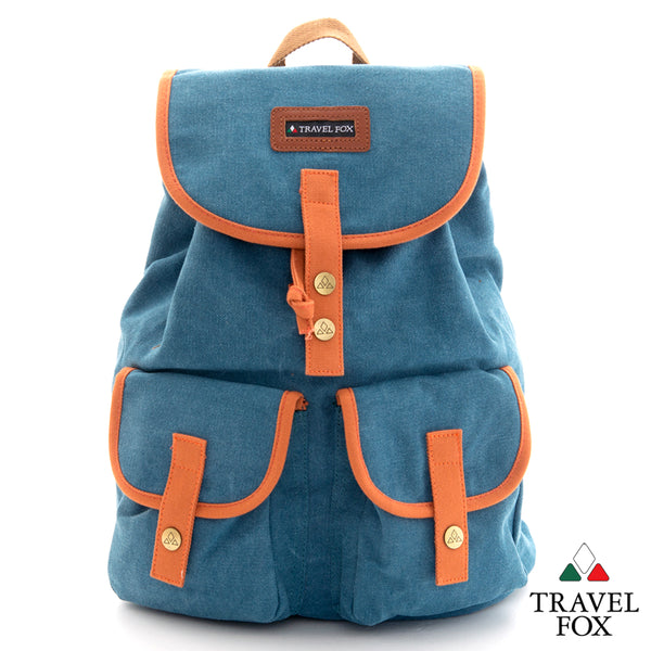 CANVAS BACKPACK - BLUE