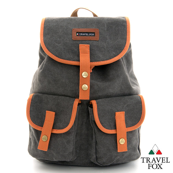CANVAS BACKPACK - GREY