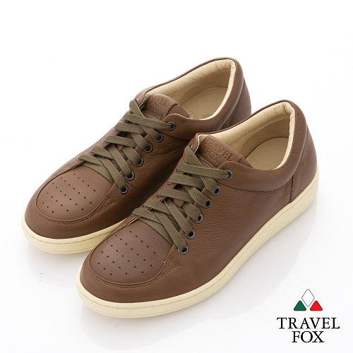 MEN'S 900 SERIES - LOW-CUT CALF LEATHER LIGHT BROWN