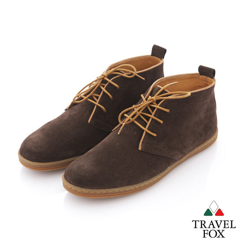 MEN'S DESERT BOOTS - SUEDE DARK BROWN