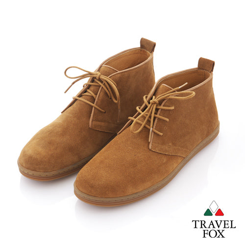 MEN'S DESERT BOOTS - SUEDE BROWN