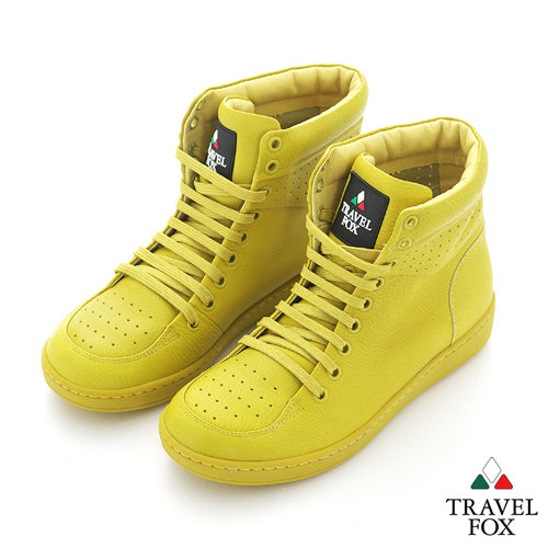 WOMEN'S 900 SERIES - YELLOW NAPPA LEATHER