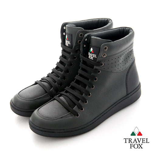 MEN'S 900 SERIES - TWO-TONE GREY & BLACK NAPPA LEATHER